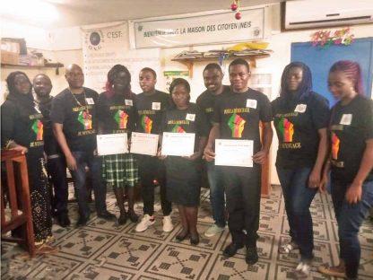 Témoignages: les jeunes du CENAJES de Kribi remercient un monde avenir