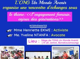 Rencontre d'échanges à l'occasion de la journée internationale de la femme