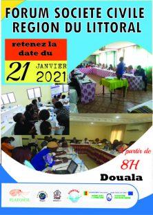 2eme EDITION  FORUM DES ORGANISATIONS DE LA SOCIETE CIVILE DU LITTORAL